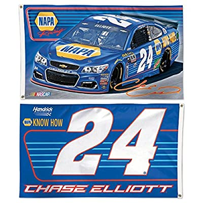 Chase Elliott 3x5 Flag 2 Sided #24 Napa Race Car Hendrick 2016 NASCAR