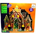 Lemax 35491 ALL HALLOWS MAUSOLEUM SPOOKY TOWN Signature Exclusive Building