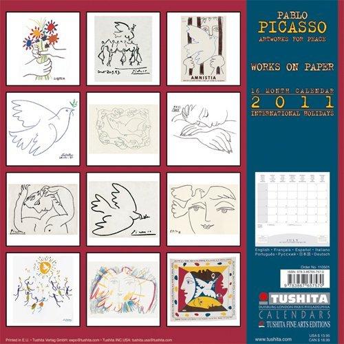 Picasso Artworks For Peace Wall Calendar 2011