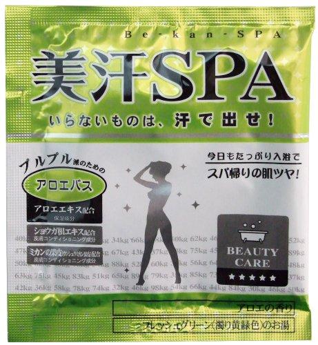 ノルコーポレーション 入浴剤 美汗SPA アロエバス 12包セット アロエの香り OBーTBIー1ー8