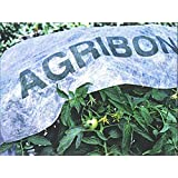 Agribon AG-19 Floating Row Crop Cover / Frost Blanket / Garden Fabric Plant Cover by USA-Commerce (Color: White, Tamaño: 83
