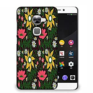 Snoogg seamless texture with flowers and butterflies endless floral pattern Designer Protective Back Case Cover For Samsung Galaxy J1