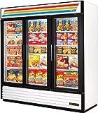 True GDM-72F, 72 cu ft, 3 Door, Swing Door Freezer