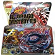 L-drago Destroy Beyblade 4d Bb108 Top Metal Fusion Fight Master New + Launcher