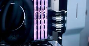 Ballistix Tactical Tracer 64GB Kit (16GBx4) RGB DDR4 2666 MT/s (PC4-21300) DR x8 DIMM 288-Pin Memory - BLT4K16G4D26BFT4 (Color: gray, Tamaño: 64GB Kit (16GBx4) Dual Rank)