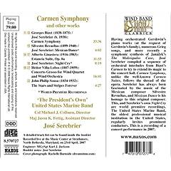 Carmen back cover