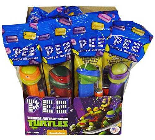 Pez Teenage Mutant Ninja Turtles TMNT Candy Dispenser Pack of 12 (Ninja Turtles Candy compare prices)