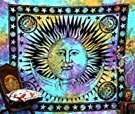 Psychedelic Celestial Indian Sun Hipp…