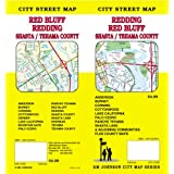 Redding, CA / Red Bluff / Shasta & Tehama Co Street Map