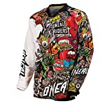 O'Neal Mayhem Jersey CRANK Schwarz Multi Motocross Trikot Enduro MTB Cross DH
