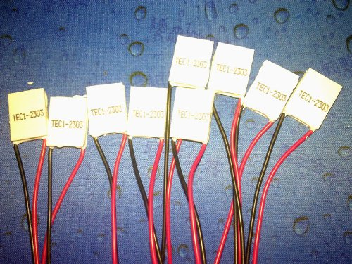 Sunny988 2Pcs/Lot 15*20Mm Tec1-02303 Thermoelectric Cooler Peltier Plate Module Heatsinks
