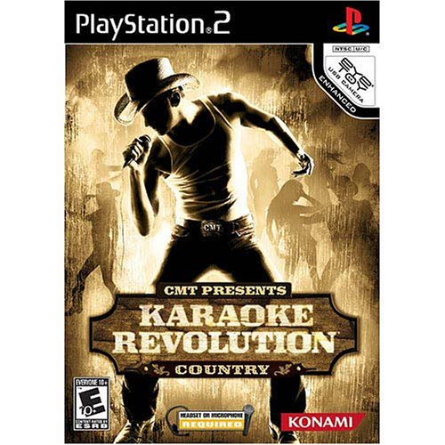Karaoke Revolution Country - Playstation 2