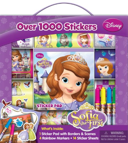 Bendon Disney Sofia The First Sticker Box with Handle