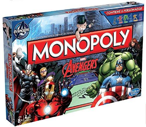 Hasbro B0323103 - Avengers Monopoly