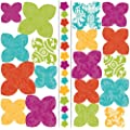 RoomMates ACC0002F3D Flower 3-D Wall Decals