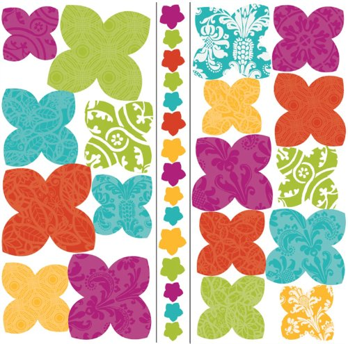 Roommates Acc0002F3D Flower 3-D Wall Decals front-577249