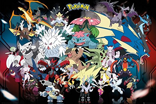 GB eye, Pokemon, Mega, Maxi Poster, 61x91.5cm