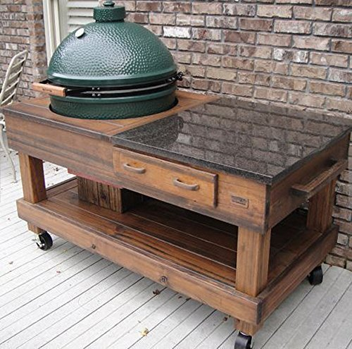 Grill Table for Big Green Eggs