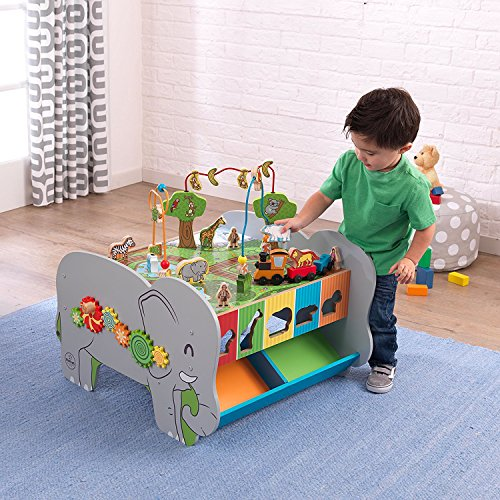 Toys For Active Toddlers : Top rated best seller kids toddler wooden play center
