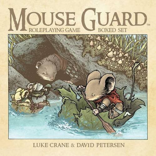 Mouse Guard Roleplaying Game Box Set, 2nd Ed. (Burning Wheel compare prices)