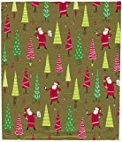Caspari Christmas Cheer 9-Foot Christmas Wrapping Paper Roll