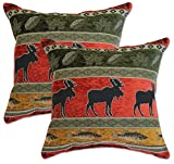 Big Tree Furniture Woodstock Red Pillows