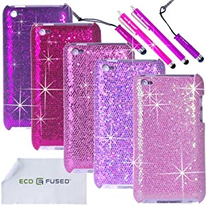 Amazon.com : Eco-Fused Case Bundle for Apple iPod Touch 4 ... Ipod Touch 4th Generation Cases For Girls