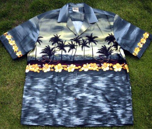 Hawaiian shirt, Aloha GrayGreen - Buy Hawaiian shirt, Aloha GrayGreen - Purchase Hawaiian shirt, Aloha GrayGreen (Rainbow, Rainbow Mens Shirts, Apparel, Departments, Men, Shirts, Mens Shirts)