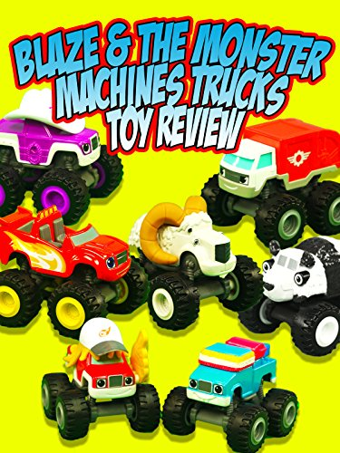 BLAZE & THE MONSTER MACHINES Trucks Toy Review