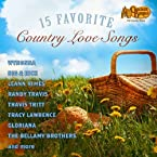 15 Fav Country Love Songs CD