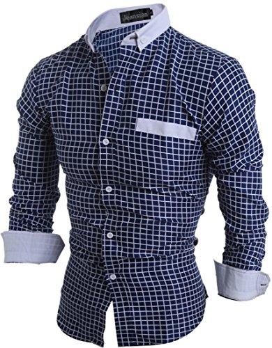 jeansian-hombre-camisas-de-manga-larga-cuadros-colores-mezclados-men-classic-plaid-long-sleeves-shir