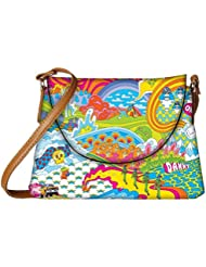 Snoogg Hippie Trip 2852 Womens Carry Around Sling Bags