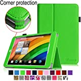 [CORNER PROTECTION] Fintie Acer Iconia A1-830 Case - Premium Vegan Leather Slim Fit Stand Cover for Acer Iconia A1-830 7.9 -Inch Tablet - Green