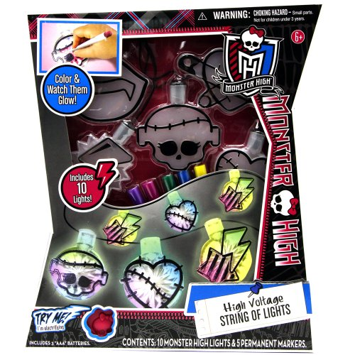 Tara Toy Monster High - High Voltage String Of Lights Kit