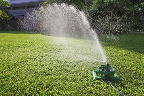 Long Range Impulse Sprinkler System Sturdy Sprinklers Water Entire Lawn And Garden Without