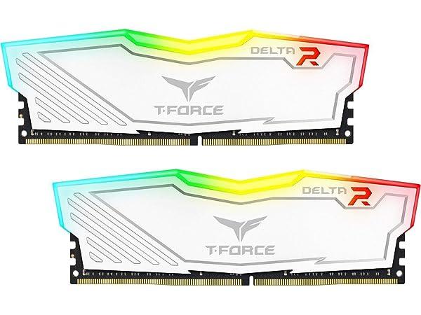 Team 8GB (2 x 4GB) T-Force Delta II RGB Series DDR4 PC4-24000 3000MHz Desktop Memory Model TF4D48G3000HC16CDC01 (Tamaño: 8 Gb)