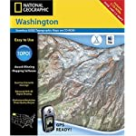 National Geographic TOPO! Washington Map CD-ROM (Mac)