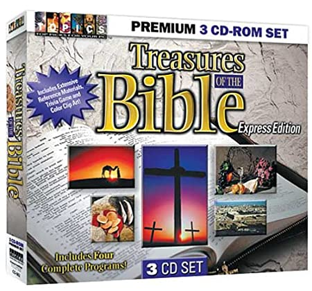 Treasures of the Bible 3 CD-ROM Set (Jewel Case)