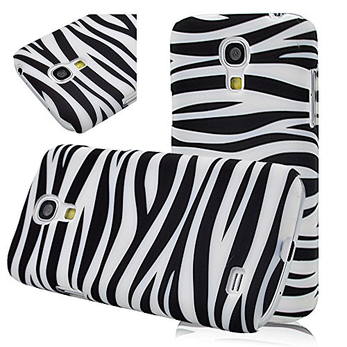Zebra Stripe - Pc Hard Cover Case For Samsung Galaxy S4 Mini (Not Fit S4) Light Protective Back Shell Skin