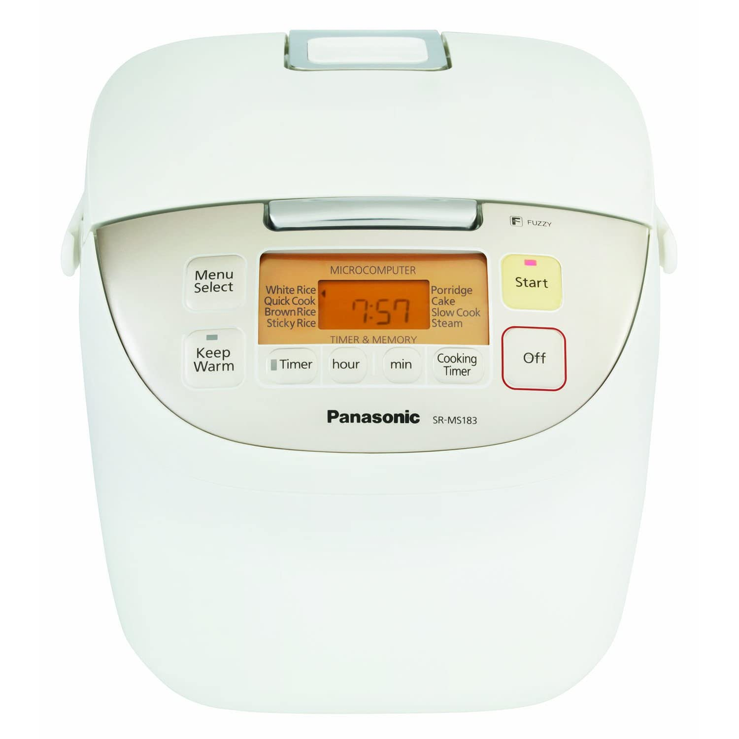 Panasonic SR-MS183 10-Cup (Uncooked) Rice Cooker
