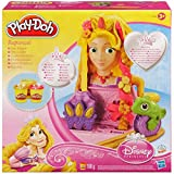 Disney Princess Play-Doh Rapunzel Hair Designs [Toy] Disney Princess
