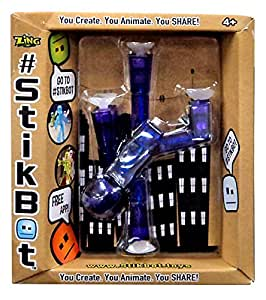 Amazon.com: Stickbots, Purple Figure, 3 Inches: Toys & Games