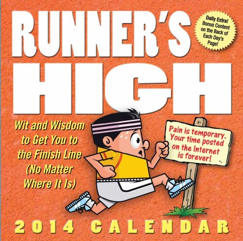 Runner's High 2014 Day-to-Day Calendar
