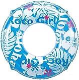 ヒオキ 浮き輪 ホワイトアロハウキワ 100cm ランキングお取り寄せ