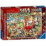 Ravensburger Limited Edition 2015 Santa's Final Preparations 1000 Piece Jigsaw Puzzle
