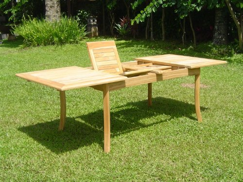 New-9-Pc-Luxurious-Grade-A-Teak-Dining-Set-94-Rectangle-Table-And-8-Stacking-Leveb-Arm-Chairs-WHDSLVd