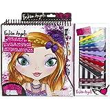 Fashion Angels Make-Up Artist Sketch Portfolio Set