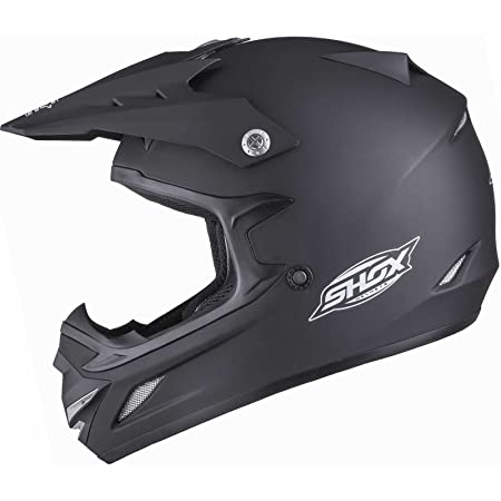 Shox MX-1 Solid Casque de motocross