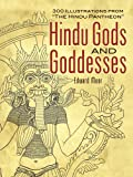 """Hindu Gods and Goddesses: 300 Illustrations from """"The Hindu Pantheon"""" (Paperback)"""