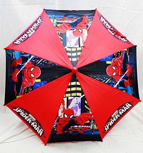 marvel-spiderman-paraguas-rojo-negro-figura-mango-kids-new-regalo-toys-spu469